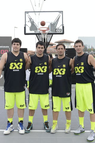 Neuquen (Argentina) 2013 FIBA 3x3 World Tour final in Istanbul
