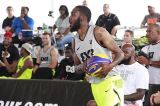 #4 Joe Newton, Team Philadelphia, 2014 Chicago World Tour, 3x3 Game. 16 August. Day 2.