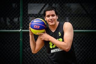 #5 Olivera Nicolas, Team Montevideo, FIBA 3x3 World Tour Rio de Janeiro 2014, 27-28 September.