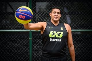 #6 Macetao Joao, Team Sao Paulo, FIBA 3x3 World Tour Rio de Janeiro 2014, 27-28 September.