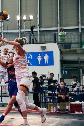 11 Jill Bettonvil (NED) - 3 Loyce Bettonvil (NED) - Game1_Mongolia vs Netherlands