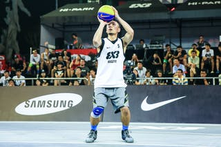 #5 Suzuki Keita, Team Nagoya, 2014 World Tour Beijing, 3x3game, 3rd of August, day 2.