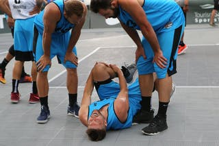 3 Ondřej šiška (CZE) - 6 Roman Zachrla (CZE) - 5 Ondřej Dygrýn (CZE) - Hamamatsu vs Humpalec at FIBA 3x3 Saskatoon 2017