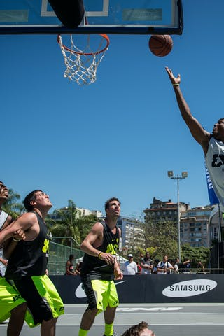 #5 Rio (Brasil) Cordoba (Argentina) 2013 FIBA 3x3 World Tour Rio de Janeiro