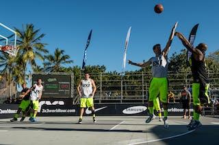 #3 RJ Madureira (Brazil) SP Sorriso (Brazil) 2013 FIBA 3x3 World Tour Rio de Janeiro