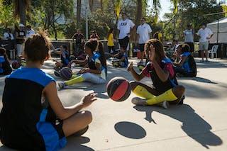 Kids Clinic 2013 FIBA 3x3 World Tour Rio de Janeiro