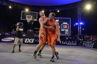 #7 Ovnik Gasper, Team Trbovlje, FIBA 3x3 World Tour Lausanne 2014, Day 2, 30. August.