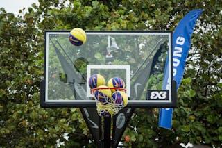 3x3 balls, FIBA 3x3 World Tour Rio de Janeiro 2014, Day 2, 28. September.