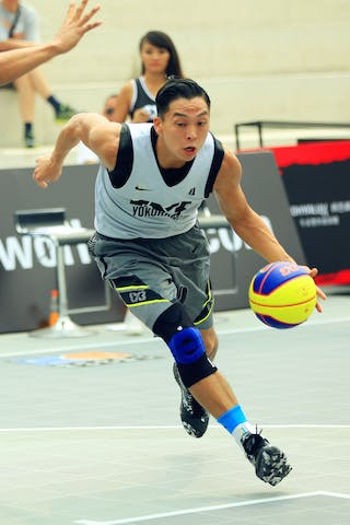 #4 Ochiai Tomoya, Team Yokohama, 2014 World Tour Beijing, 3x3game, 03 August, Day 2