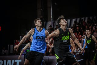 3 兰凯 Lan Kai 史 Shi (CHN) - 3 Piotr Renkiel (POL) - Gdansk v Jinan, 2016 WT Beijing, Pool, 16 September 2016