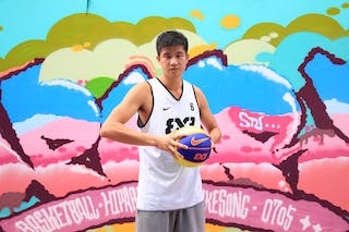 #6 Lei Pengfei, Team Xi'an, FIBA 3x3 World Tour Beijing 2014, 2-3 August.