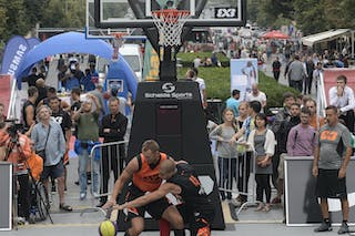#4 Bulut Domovic. Team Novi Sad. 2014 World Tour. 3x3 Game.