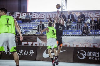 7 Wang Xuefeng (CHN) - 3 Goran Vidovic (CHN)