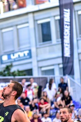 4 Igor 'shogli' Todorovic (SLO) - 4 Charles Bronchard (FRA) - Maribor v Paris, 2016 WT Lausanne, Pool, 26 August 2016