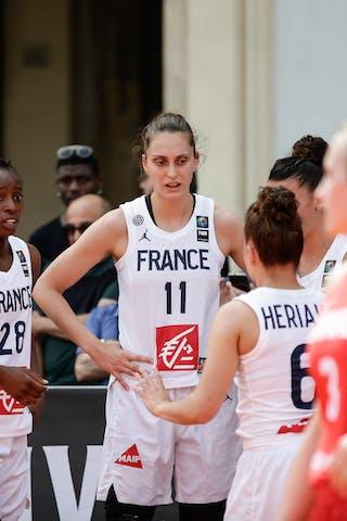 28 Migna Touré (FRA) - 11 Ana Maria Filip (FRA) - 6 Caroline Hériaud (FRA)