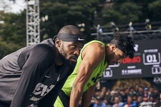 2 Kareem Maddox (USA) - 4 Marcel Esonwune (USA)