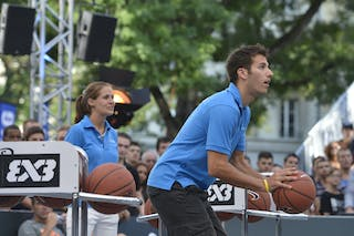 Samsung shoot contest 2013 FIBA 3x3 World Tour Masters in Lausanne