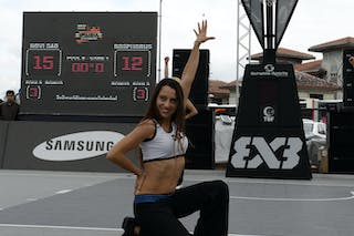 Cheerleaders 2013 FIBA 3x3 World Tour final in Istanbul