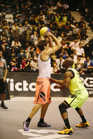 #4 Finzgar Simon, Team Trbovlje, FIBA 3x3 World Tour Final Tokyo 2014, 11-12 October.