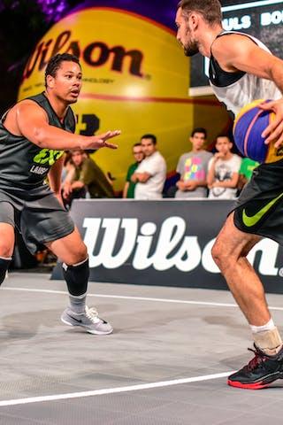 5 Yino Martinez (SUI) - 4 Lazar Rasic (SRB) - Zemun v Lausanne, 2016 WT Lausanne, Pool, 26 August 2016