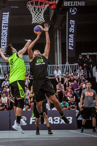7 Kai Bu (CHN) - 6 Shao Hua Guo (CHN) - Zheng Zhou v Shanghai SUES, 2016 WT Beijing, Pool, 16 September 2016
