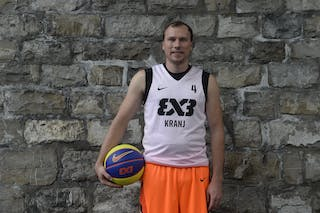 #4 Jersin Boris, Team Kranj, FIBA 3x3 World Tour Lausanne 2014, 29-30 August.