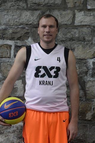 #4 Jersin Boris, Team Kranj, FIBA 3x3 World Tour Lausanne 2014, 29-30 August.
