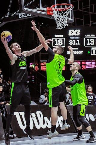 3 Marko Savić (SRB) - 7 Tamás Ivosev (SRB) - 6 Dusan Bulut (SRB)
