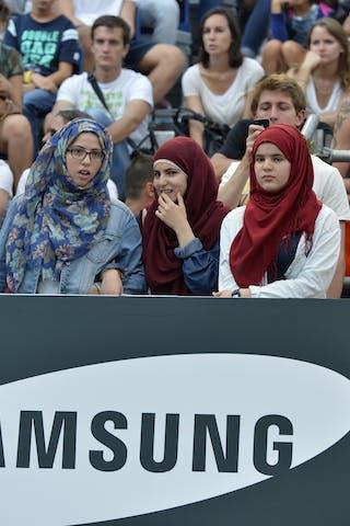 Cultural diversity Samsung 2013 FIBA 3x3 World Tour Masters in Lausanne