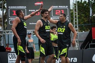 Team Sao Paulo, Fabio Santos, FIBA 3x3 World Tour Rio de Janeiro 2014, Day 2, 28. September.