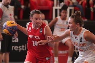 24 Myrthe Den Heeten (NED) - 14 Annika Neumann (AUT)