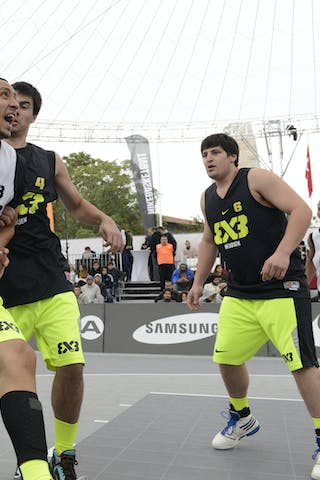 #3 Caracas (Venezuela) Nequen (Argentina) 2013 FIBA 3x3 World Tour final in Istanbul