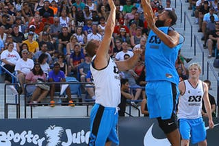 3 Ondřej šiška (CZE) - 3 Jorge Matos (PUR) - Humpolec vs Gurabo FIBA 3x3 Saskatoon 2017 (Can)