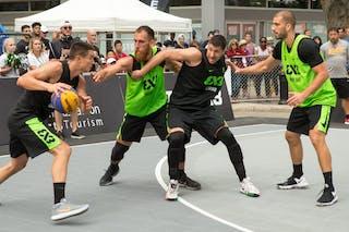 4 Stefan Stojačić (SRB) - 5 Aleksandar Ratkov (SRB) - 6 Dusan Bulut (SRB) - 4 Dejan Majstorovic (SRB)