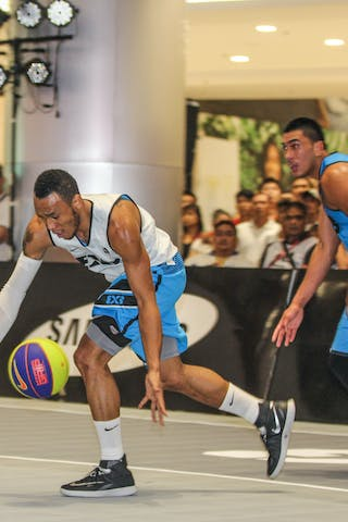 #4 Abueva Calvin, Team Manila North, 3x3, 2014 World Tour Manila, 20. July.