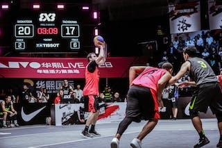6 Nolan Brudehl (CAN) - 3 Michael Linklater (CAN) - 3 Chihiro Ikeda (JPN)