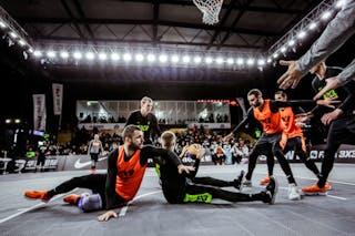 6 Nikola Vukovic (SRB) - 3 Bogdan Dragovic (SRB) - 5 Janis Antrops (LAT) - 3 Nauris Miezis (LAT)