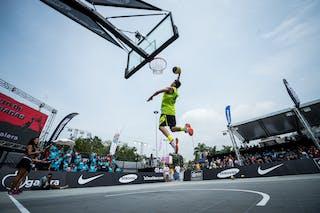 #6 Rodolfo di Biase, Team Concordia, dunk contest, FIBA 3x3 World Tour Rio de Janeiro 2014, Day 2, 28. September.