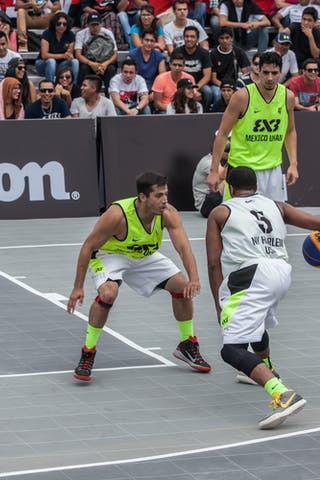 NY Harlem v Mexico UNAM, 2015 WT Mexico DF, Pool, 9 September 2015