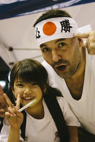 Fans, FIBA 3x3 World Tour Final Tokyo 2014, 11-12 October.