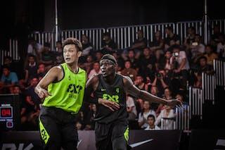 5 Tatsuhito Noro (JPN) - 4 Ater James Majok (CHN) - Tokyo v Beijing, 2016 WT Beijing, Pool, 16 September 2016