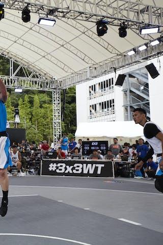 5 Aaron Bailey-nowell (NZL) - 5 Hailiang Xiao (CHN) - Pool 1 B 2: Dongguan MC vs. Auckland