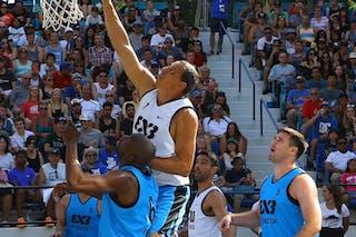 6 Marcelão Silva (BRA) - 3 Douglas Motta (BRA) - 5 Craig Moore (USA) - 6 Zahir Carrington (USA)