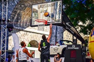 7 Jure Eržen (SLO) - 6 Vladimir Bulatovic (SRB) - Kranj v Obrenovac, 2016 WT Lausanne, Pool, 26 August 2016