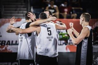 1 Nauris Miezis (LAT) - 3 Marko Milaković (SRB) - 1 Strahinja Milosevic (SRB) - 5 Tamás Ivosev (SRB)