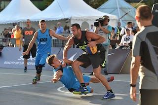6 Jure Eržen (SLO) - 5 Alexander Tecklenborg (GER) - Kranj v Berlin, 2016 WT Debrecen, Pool, 7 September 2016
