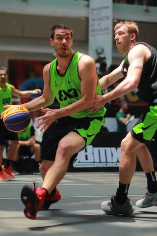4 Robbie Hummel (USA) - 3 Mihailo Vasic (SRB)
