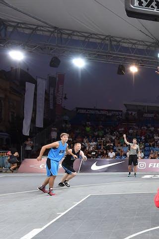 3 Marko Petrovic (SRB) - 6 Yassin Mahfouz (GER) - Belgrade v Berlin, 2016 WT Debrecen, Pool, 7 September 2016