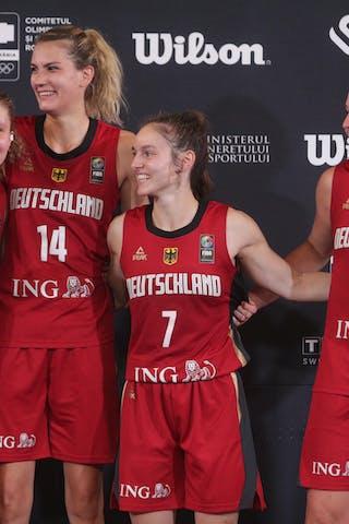 4 Luana Rodefeld (GER) - 7 Jennifer Crowder (GER) - 14 Sonja Greinacher (GER) - 21 Svenja Brunckhorst (GER)