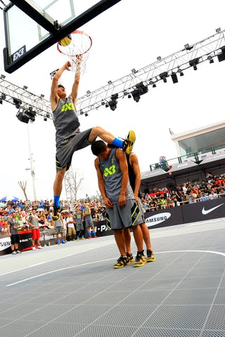Dunk contest, FIBA 3x3 World Tour Beijing 2014, 2-3 August.